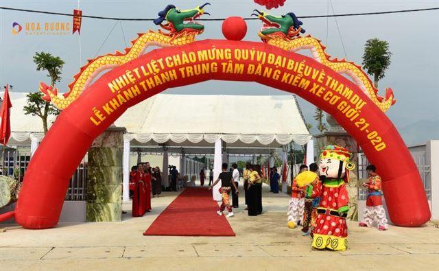 Tổ chức sự kiện Lễ khánh thành đăng kiểm xe tại Yên Bái